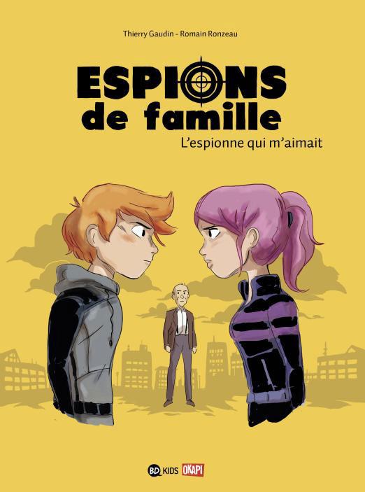 couverture espions de famille T5