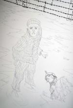 Crayonné et mises en couleurs de la version finale du dessin de couverture