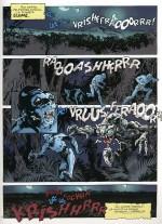 « La Bête d'Écume », planche 1.