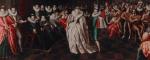 Le Bal des noces du duc de Joyeuse (Ecole française vers 1581 - 1582), considéré à l'époque comme une orgie de divertissements.