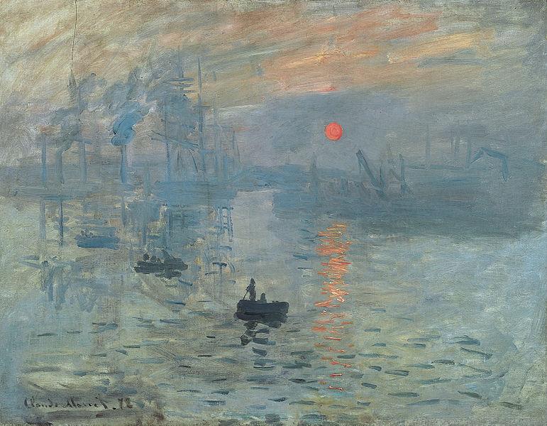 Impression, soleil levant (1872) : l'objet de toutes les critiques...