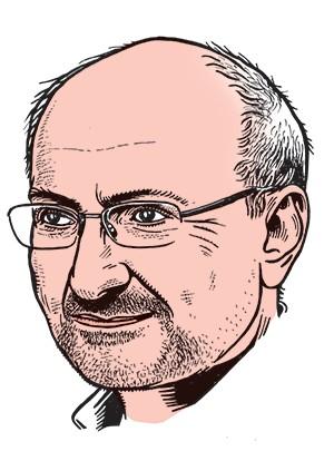 Portrait d'Éric Fottorino, directeur de la publication.