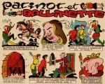une bande dessinée de César Garcia dans Francs Jeux, en 1951.