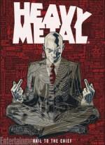 Grant Morrison arrive à Hevy Metal.