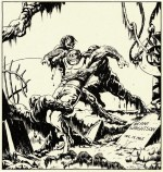 Premier dessin publié de Bernie Wrightson dans le courrier des lecteurs de Creepy.