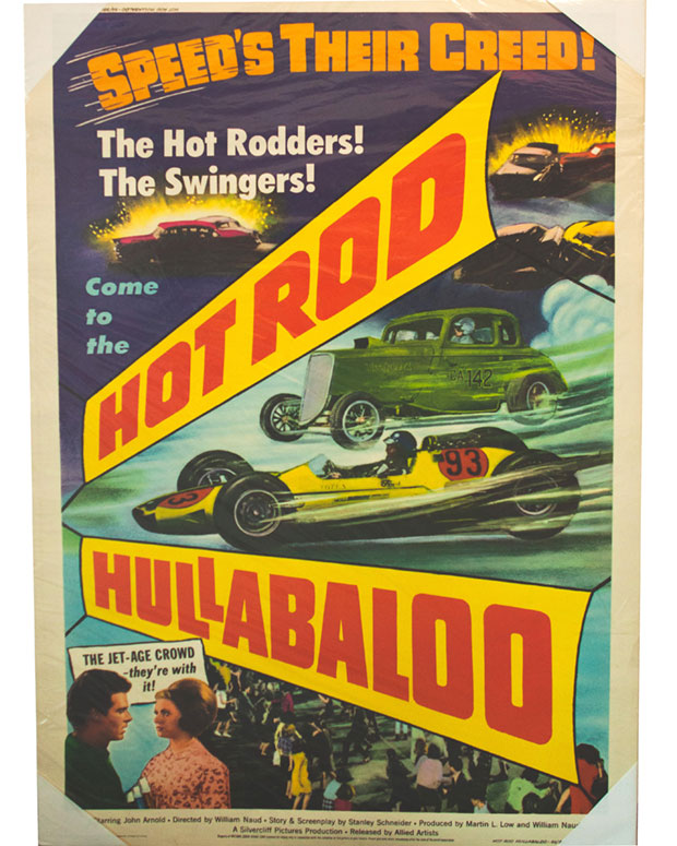 Affiche pour le film Hot Rod Hullabaloo (William T. Naud, 1966)