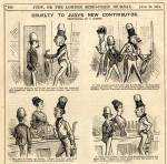 « Ally Sloper » par Marie Duval et Charles Henry Ross (Grande-Bretagne).