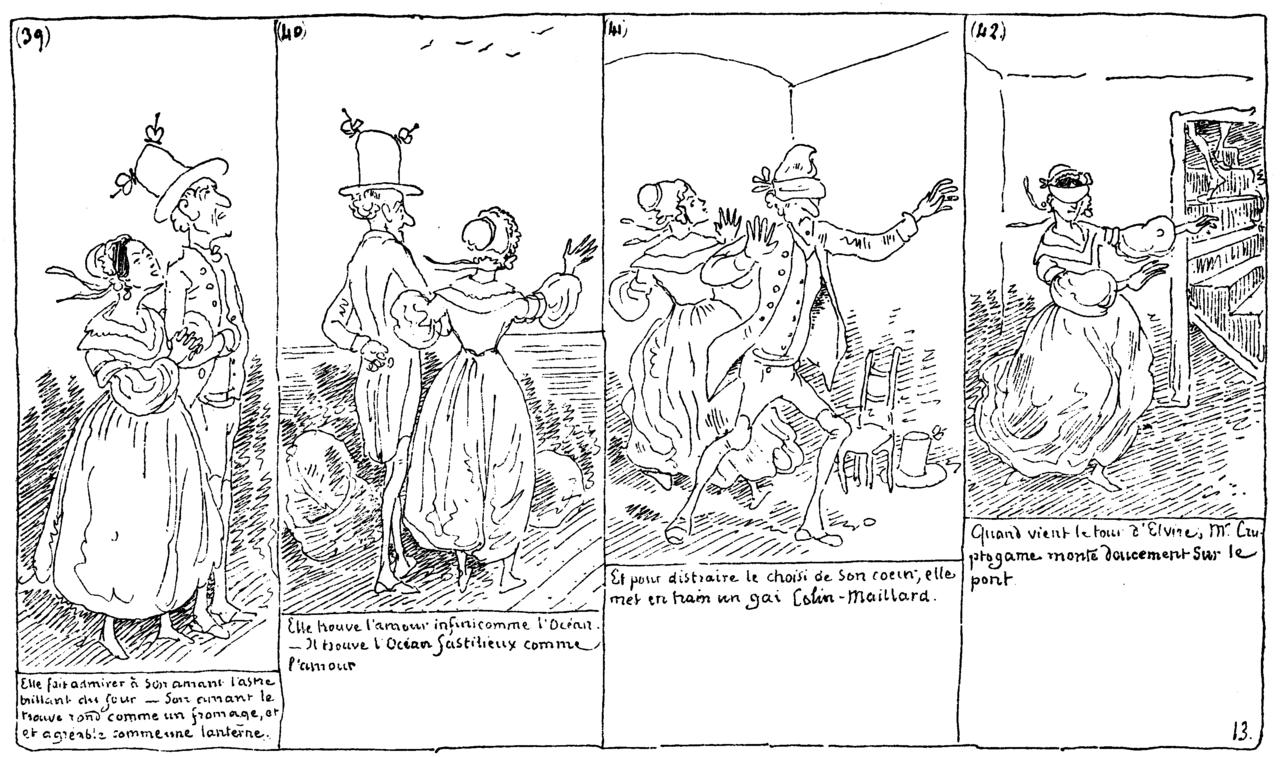 « Histoire de M. Cryptogame » par Rodolphe Töpffer.