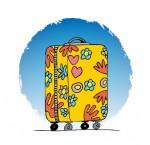 La valise de sortie de Zita