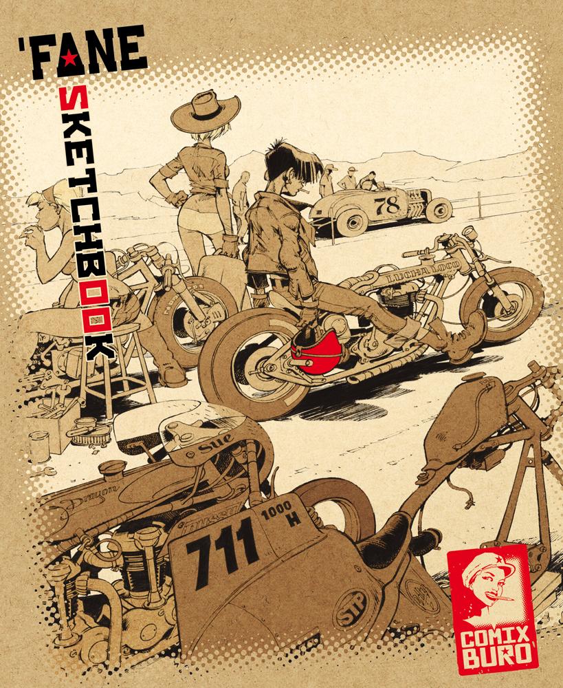 Sketchbook pétaradant édité par Comix Buro en juin 2014