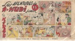 Album « R. Hudi junior et ses aventures » publié en 1946 par Vaillant.