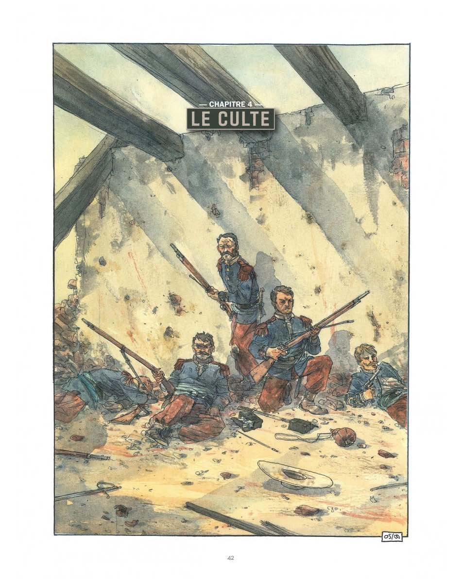 Camerone, la bataille symbole (pages 42 et 55)