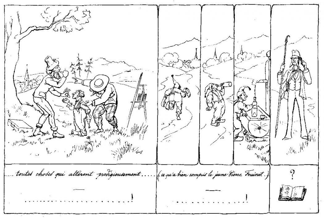 «Patric et Patrac» par Henri Hébert.