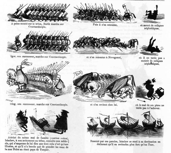 « Histoire dramatique, pittoresque et caricaturale de la Sainte Russie » par Gustave Doré.