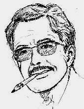 Autre autoportrait de Bernard Dufossé.