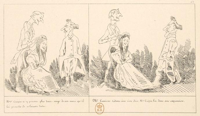 « Histoire de monsieur Crépin » par Rodolphe Töpffer.