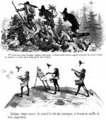 « Trois artistes incompris et mécontents » par Gustave Doré.
