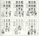 Une histoire muette par Fernand Fau, dans Le Chat noir.