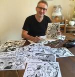 Frederic Marniquet et illustrations pour un portfolio