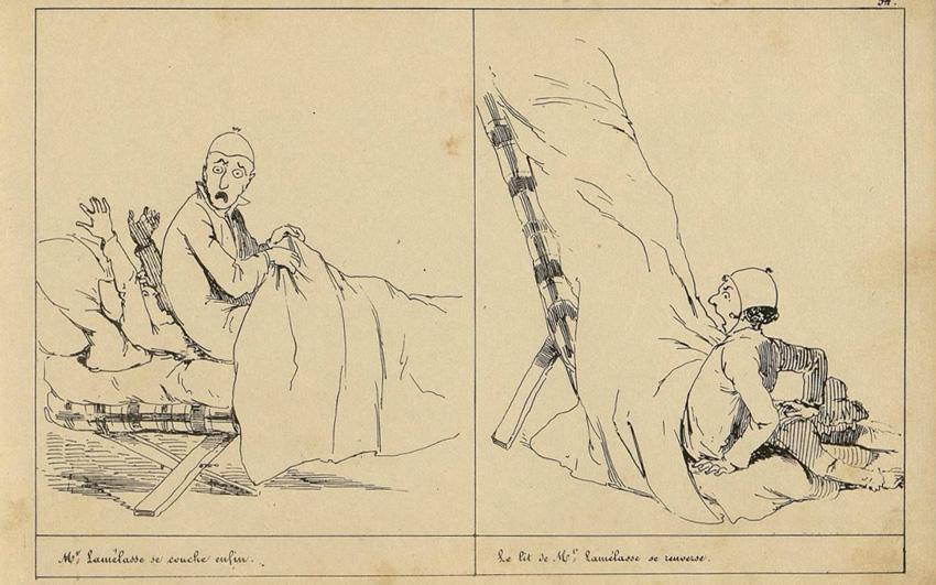 « M.Lamélasse » par Cham.