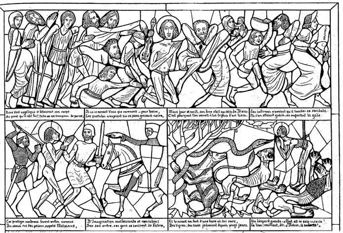 1892 : histoires muettes en images par Malatesta.