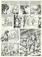 Une page de « Nathalie » publiée en noir et blanc.