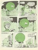 Une page de gag signée René Dosnes dans le n° 1 du mensuel Pistil.
