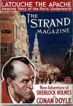 Couverture du Strand en avril 1927, annonçant L'Aventure de Shoscombe Old Place