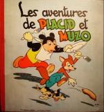 Un album Vaillant de « Placid et Muzo » par Arnal et Olivier datant de 1953.