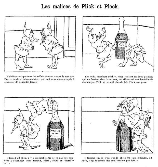 « Les Malices de Plick et Plock » par Christophe.