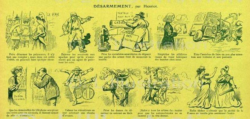 « La Semaine comique » par Henriot.