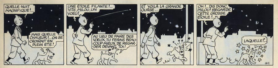 Strip paru dans Le Soir le lundi 20 octobre 1941