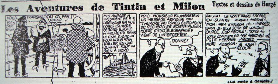 Strip du mercredi 7 janvier 1942