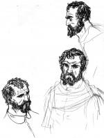 Michelangelo : recherches pour le personnage