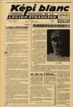 Le 1er numéro du Képi blanc, imprimé à Oran en avril 1947.