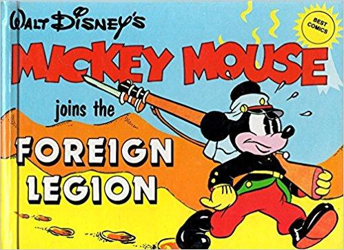 Mickey (Abbeville Press, 1981) et Belmondo dans la Légion : deux images archétypales
