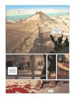Séquence d'ouverture au 1er siècle... (planches 1 et 2 - Glénat 2017))