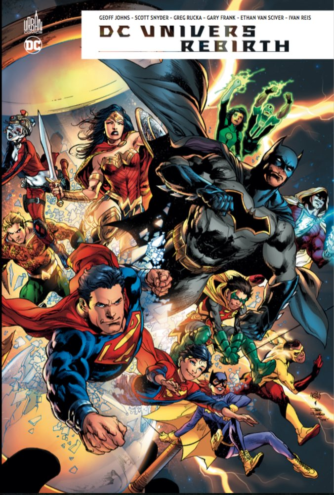 DC Univers Rebirth couv