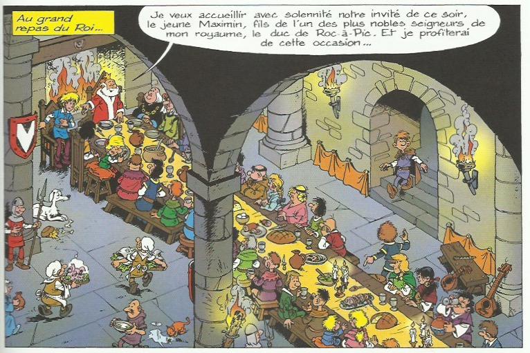 « Johan et Pirlouit T15 : Les Troubadours de Roc-à-Pic ».