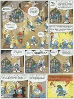« Le Schtroumpf sauvage ».