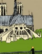 Les arcs boutants de Notre Dame