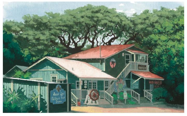 Old Kolou house