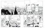 Encrage pour les planches 6 et 7 et version colorisée