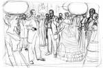 Ambiances et personnages (crayonnés)