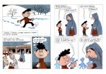 « À grands pas : histoires en bandes dessinées ».