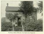 La maison des Fox, devenue un mémorial à la gloire du spiritisme