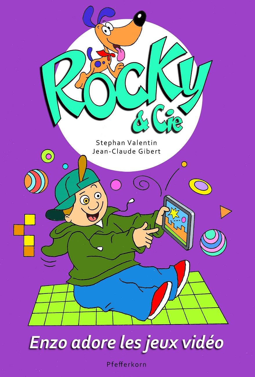Couverture Rocky jeu vidéo