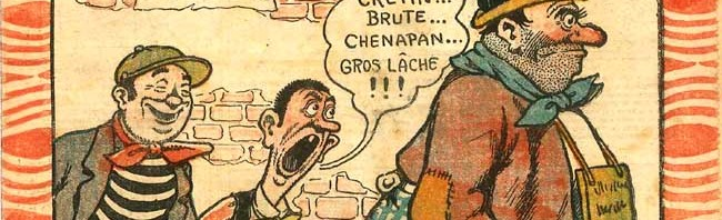 Couverture d'Alphonse Lévy (qui signe AL).
