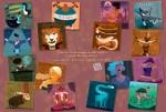Un jeu à télécharger sur le site Delcourt : un memory