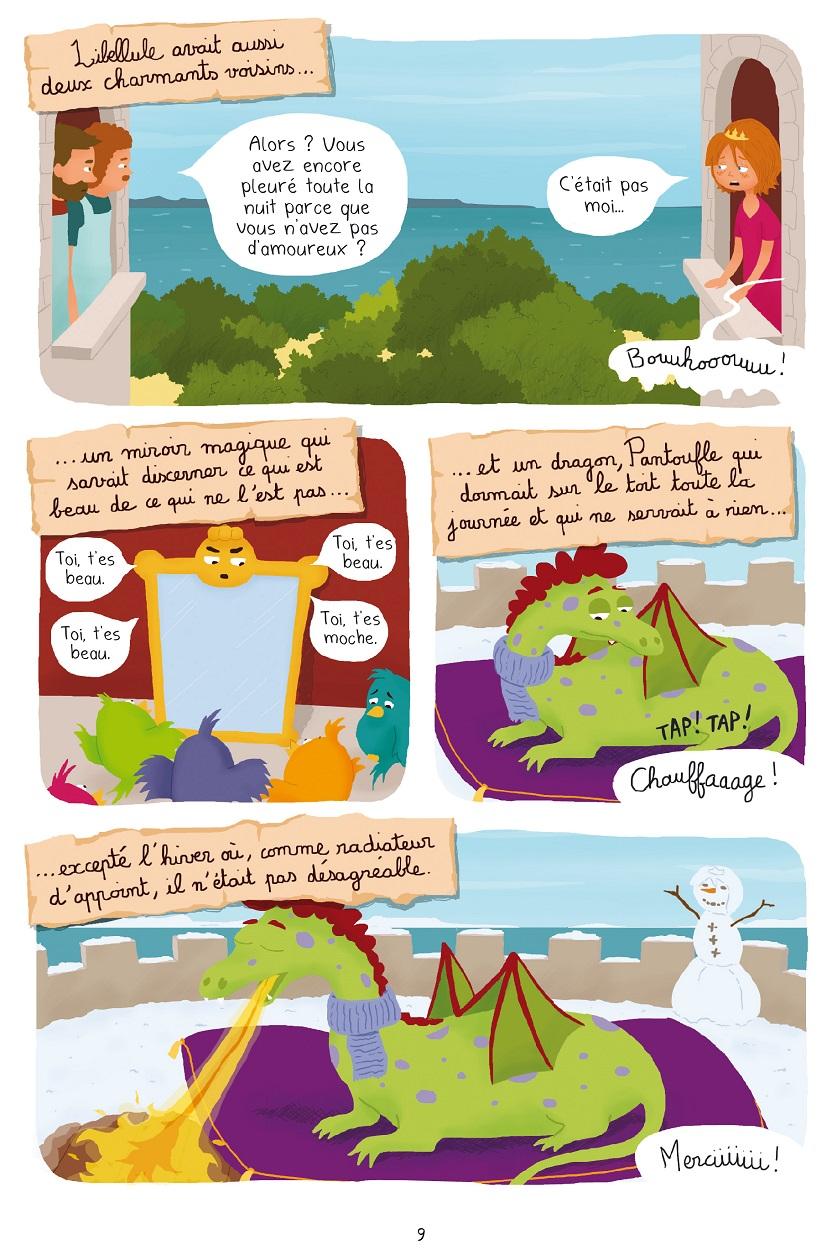 Princesse Libellule T3 page 9